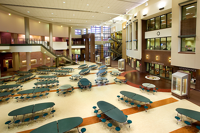 Lakeville South High School Stahl Construction